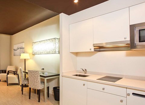 Junior suites with kitchen, so that our guests can prepare ...