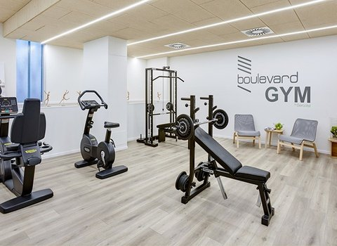 Our gym with the last technology